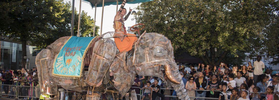 Image for 'Festive Road's Amazing Mechanical Elephant'