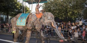 Image for 'Festive Road's Amazing Mechanical Elephant'