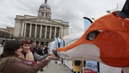 Festive Road's Festival Commission, the City Fox