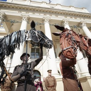 War Horse's Joey and Topthorn @ Theatre Royal