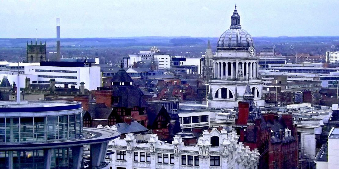 Nottingham Skyline with Council House