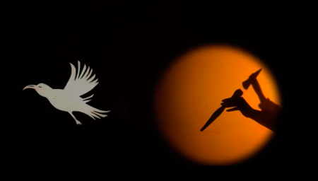 Shadow Puppet & Bird Puppet