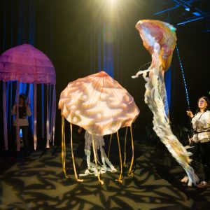 Theatre Design students' jellyfish