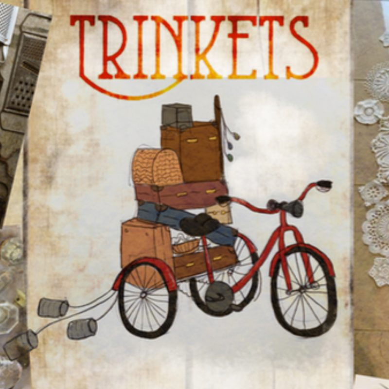 Trinkets - illustration of a tricycle