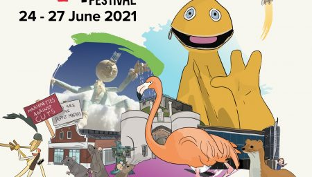 Nottingham Puppet Festival poster